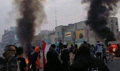تصعيد واحراق مقر لحزب الله في العراق