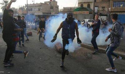 7 جرحى إثر اشتباكات الثوار وقوى الأمن في بغداد