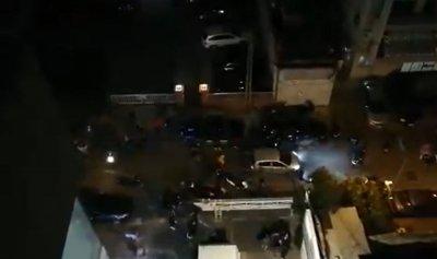 """بالفيديو: """"بالروح بالدم نفديك يا سعد"""" أمام """"الجديد"""""""
