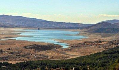مخزون بحيرة القرعون 128 مليون متر2 حتى الآن