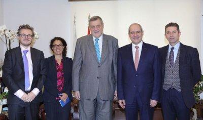 خلف: لدعم قطاع العدالة في لبنان