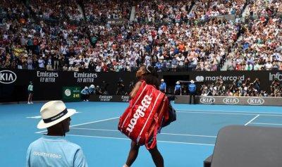 سيرينا وليامز تودع أستراليا المفتوحة مبكرا