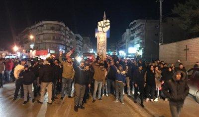 بالفيديو: مسيرة لثوار تعلبايا