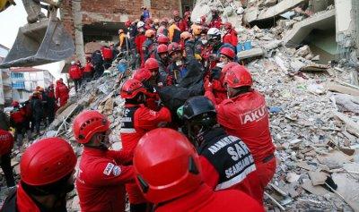 ارتفاع حصيلة ضحايا الزلزال في تركيا إلى 29