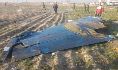 إيران: لعدم تسييس قضية الطائرة الأوكرانية