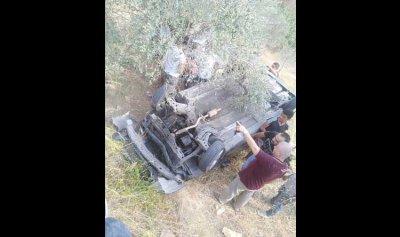 جريحة بانحراف سيارتها في عكار