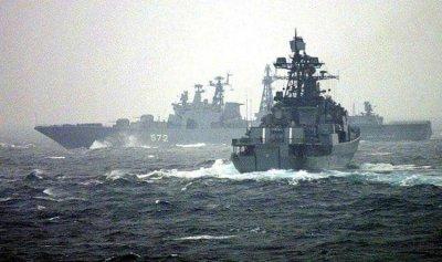 روسيا: منع مدمرة أميركية من انتهاك حدودنا