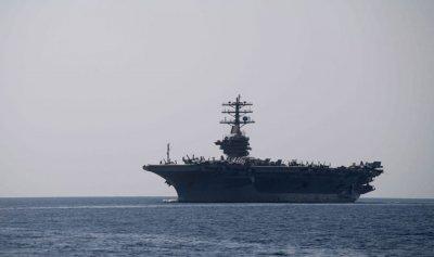 """حاملة الطائرات """"نيميتز"""" الأميركية إلى منطقة الخليج"""