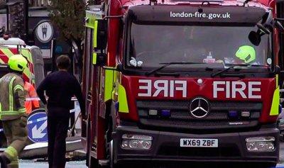 بالصور: إصابات في انفجار هائل بميناء إنكليزي
