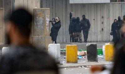 بالصور: 11 جريحاً إثر اشتباكات ثوار العراق والشرطة