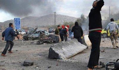 ضحايا بانفجار سيارة ملغومة في سوريا
