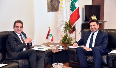 خطة الكهرباء بين غجر وسفير المانيا