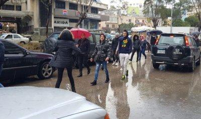 مسيرة احتجاجية في طرابلس