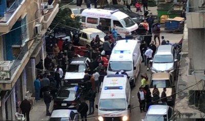بالصورة: 4 جرحى جراء إلقاء قنبلة في طرابلس