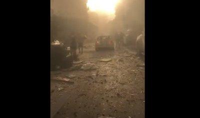 بالفيديو: استهداف أسلحة لحزب الله في مرفأ بيروت؟