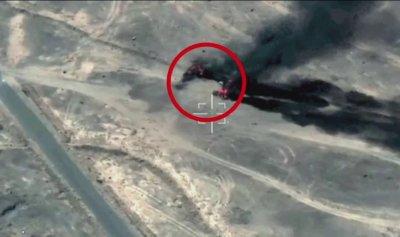 بالفيديو: عمليات التحالف ضد المواقع العسكرية للحوثيين