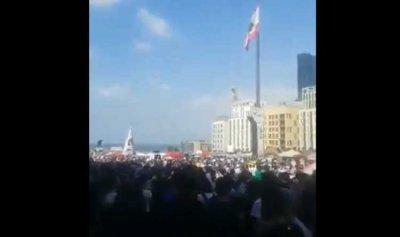 بالفيديو: ساحة الشهداء تعج بالثوار