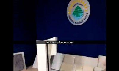 """بالفيديو: """"الثوار يحتلّون وزارة الطاقة"""""""