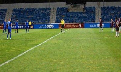 تضامن كروي أردني قطري مع لبنان
