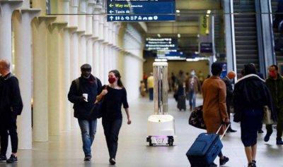 محطة قطارات في لندن تتسلح بالروبوتات