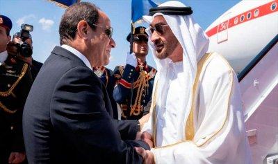 القضايا الإقليمية بين محمد بن زايد والسيسي