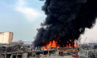 المباشرة بالتحقيقيات في حريق مرفأ بيروت غدا