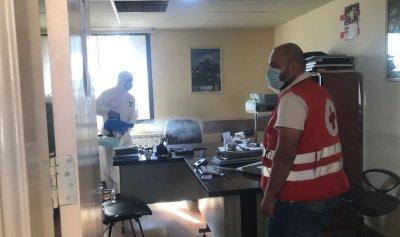 تعقيم سرايا الهرمل بعد إصابة موظف