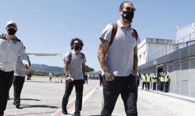 ريال مدريد يغيير طائرته بسبب عطل فنيّ