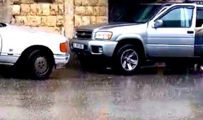أمطار في المناطق الجبلية العكارية