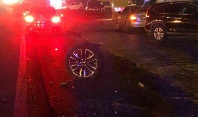 بالصور: وائل كفوري في المستشفى جراء حادث سير مروع