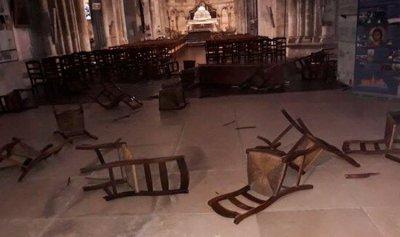 قتل 3 أشخاص بسكين داخل كنيسة في فرنسا