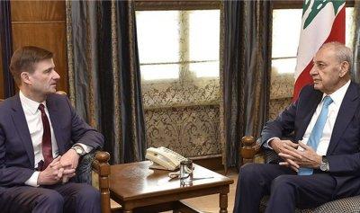 هيل من عين التينة: قلقون من فشل ساسة لبنان لإجراء إصلاحات