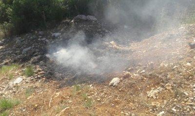 حريق في بيت الشعار