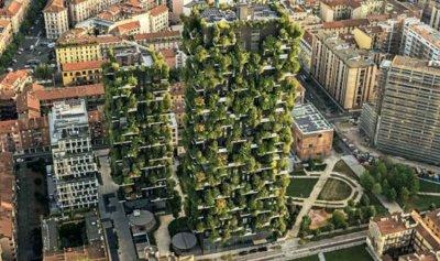 """""""الغابة العمودية""""… مبنى فريد من نوعه في ميلانو"""