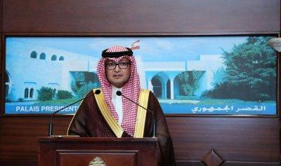 """الإعلامي زاريه باريكيان يشكر السفير وليد بخاري لدعمه حملة """"نعمة"""""""