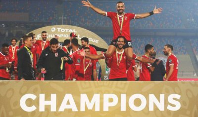 الأهلي المصري يلاقي الدحيل في مونديال الأندية