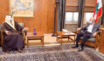 بري استقبل السفير الاماراتي في زيارة وداعية