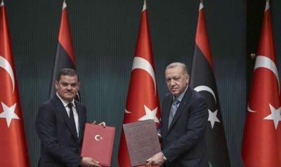 حكومة الدبيبة تبقي على مكانة تركيا كما هي في ليبيا