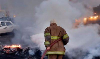 بالصور: حريق في جبيل