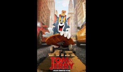 """""""توم أند جيري"""" يتصدر إيرادات السينما في أميركا الشمالية"""