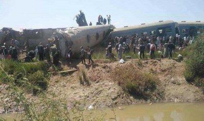 """التحقيقات الأولية بحادث """"قطار سوهاج"""": حشيش وترامادول وإهمال"""
