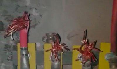 بالفيديو: سرقة محول الكهرباء الأساسي للمنصورية والمكلس