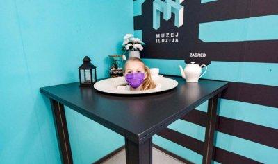 متحف كرواتي يضع رؤوس زواره في أطباق