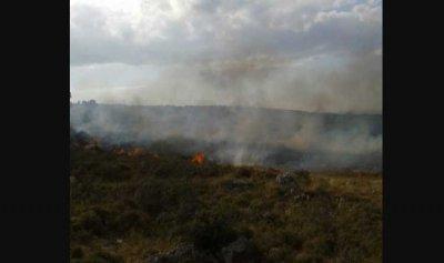 حريق كبير في برسا