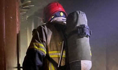حريق داخل شقة في الغبيري