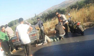 6 جرحى بحادث سير على طريق الضنية في طرابلس