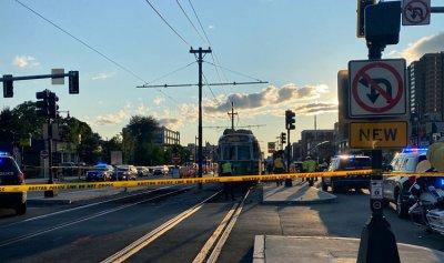 بالفيديو ـ أكثر من 23 إصابة بتصادم قطارين في بوسطن