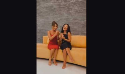 """بالفيديو: نوال الزغبي وماغي بو غصن تتمايلان على أغنية """"ارقص"""""""
