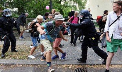 """وفاة رجل بعد احتجازه بتظاهرة ضد تدابير """"كورونا"""" في ألمانيا"""