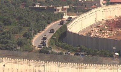 بالصور: تعزيزات للجيش اللبناني عند الحدود